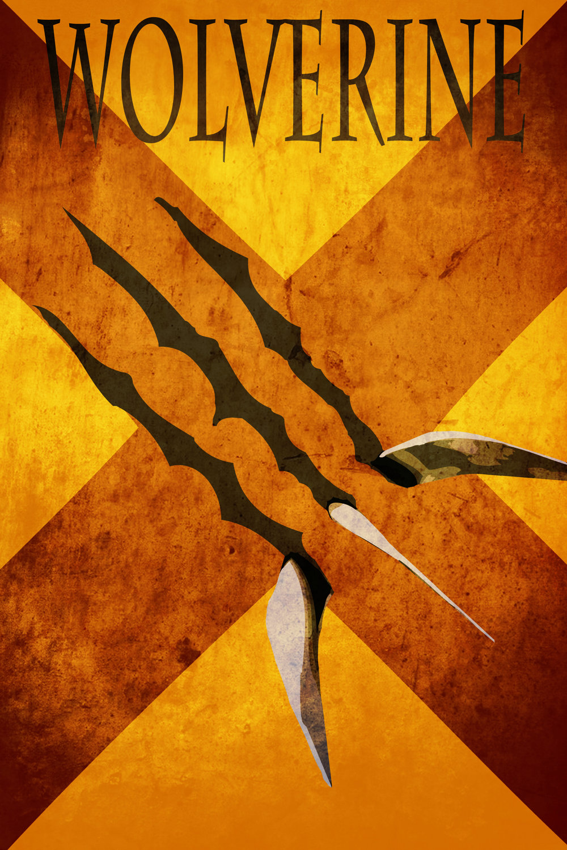 Cool set of X-MEN Character Minimalist Poster Art — GeekTyrant