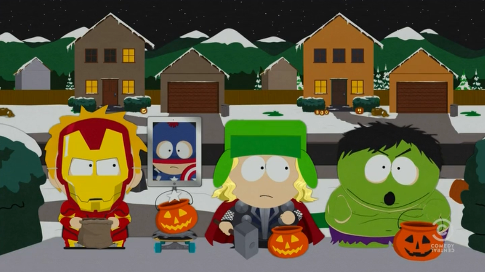SOUTH PARK Does The Avengers — GeekTyrant
