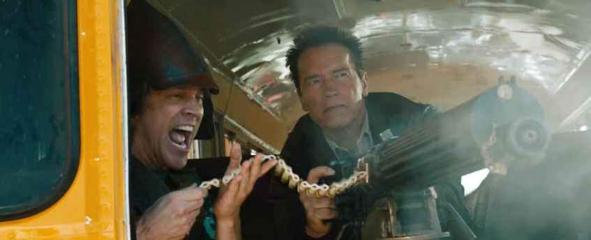 trailer for arnold schwarzeneggers the last stand