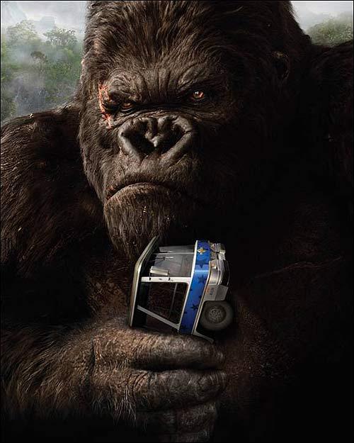 T J Kong Ride The Bomb: Peter Jackson's KING KONG Universal Studios 4D Ride