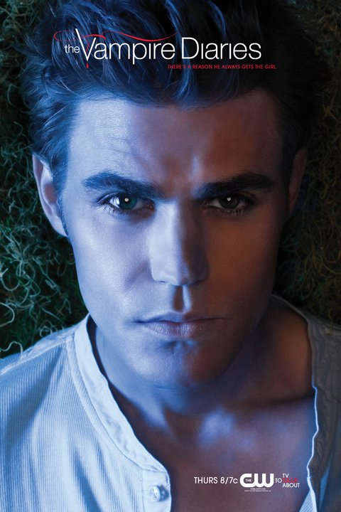 Two New Posters For The Vampire Diaries Featuring Stefan