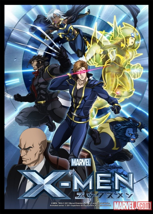 X Men Anime Characters : X men anime poster and character designs — geektyrant