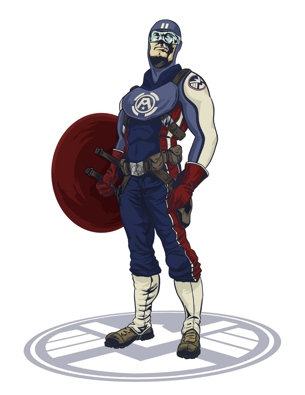 Captain America 2 Costume Images amp Pictures Becuo
