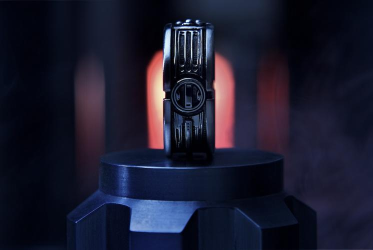Star Wars Lightsaber Style Wedding Ring Geektyrant