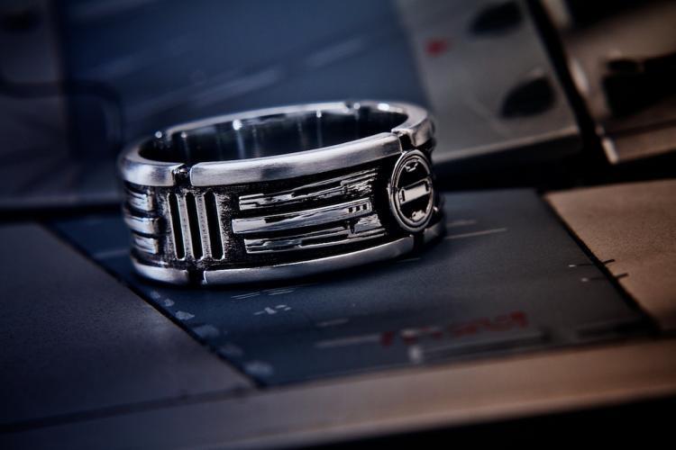 star wars lightsaber style wedding ring - Star Wars Wedding Ring