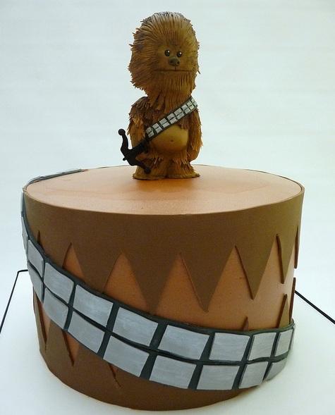 Chocolate Chewbacca Www Dunmorecandykitchen Com: Cutest Chewbacca Cake Ever