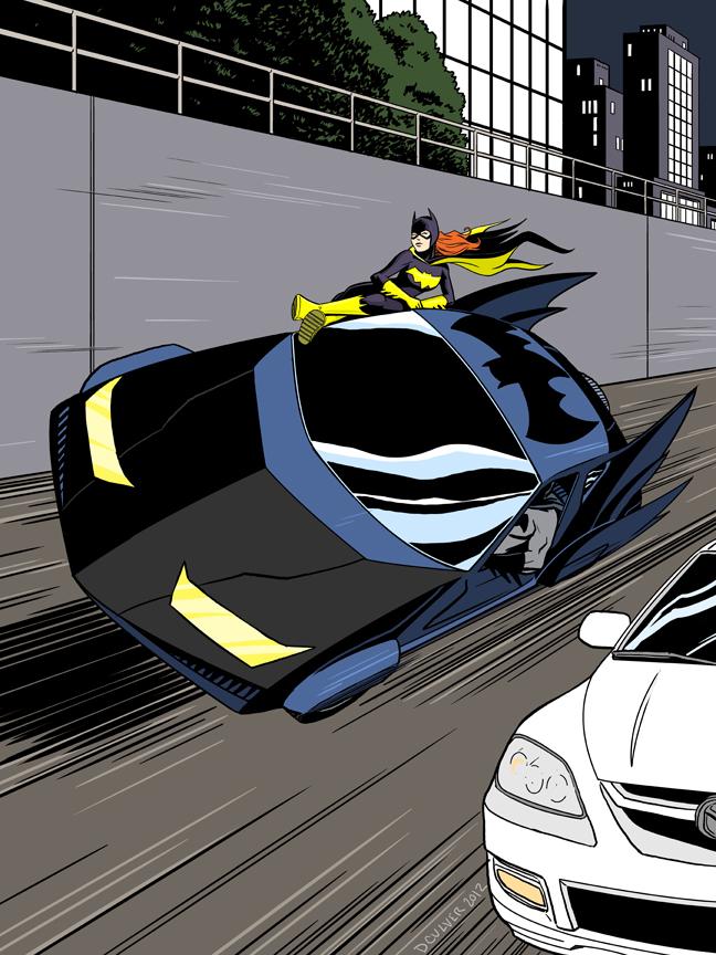 Geek Art: Batgirls Do It Well — GeekTyrant