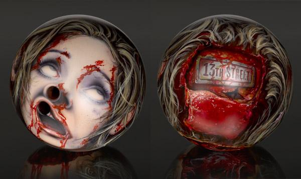 Severed Head Zombie Bowling Balls Geektyrant
