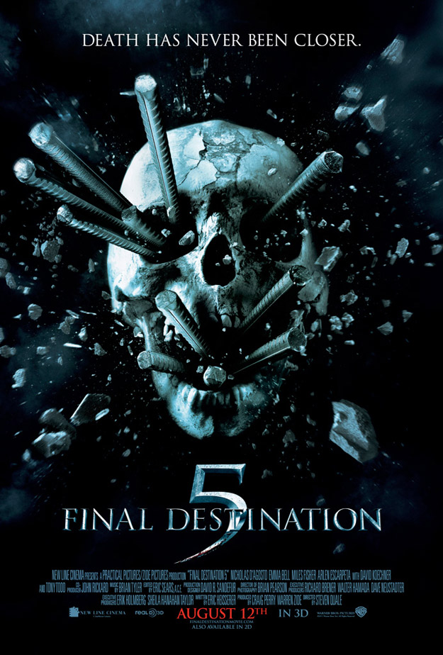 FINAL DESTINATION 5 Movie Poster — GeekTyrant