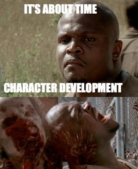 The Walking Dead Merle Vs T Dog