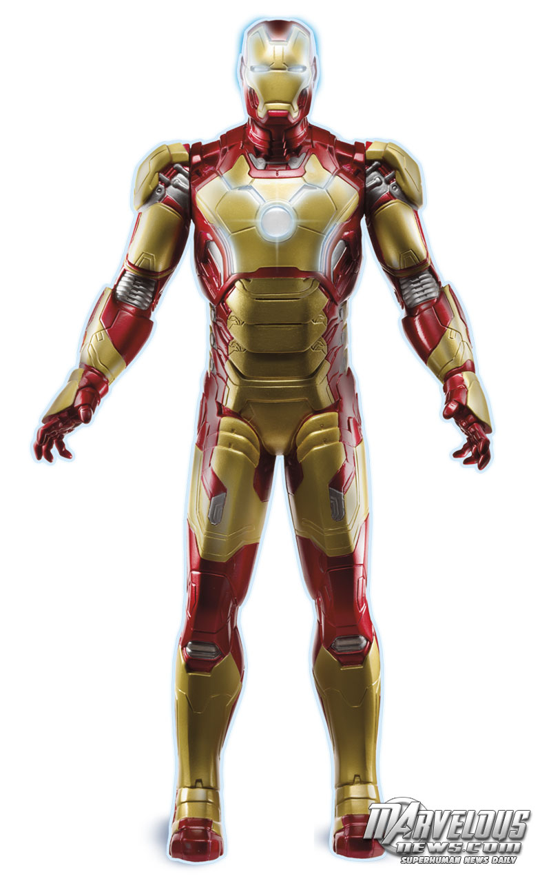 Toys For Gentleman : Nycc hasbro s iron man mark xlvii action figure