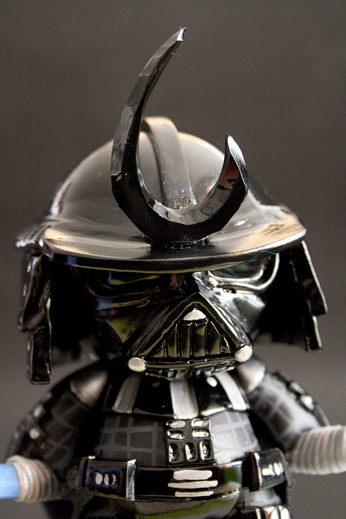Darth Vader And Stormtrooper Samurai Custom Munny Designs