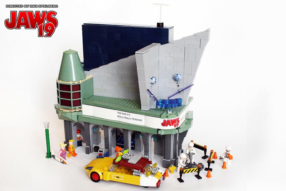 Awesome Back To The Future Ii Fan Made Lego Set Geektyrant