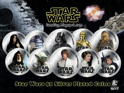 New Zealand To Mint Star Wars Coins For Legal Tender