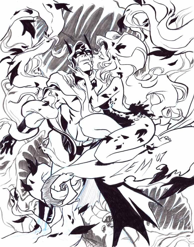 Awesome Comic and Superhero Art from DC Animation's Lauren Montgomery - GeekTyrant Awesome Comic and Superhero Art from DC Animation's Lauren Montgomery - 웹
