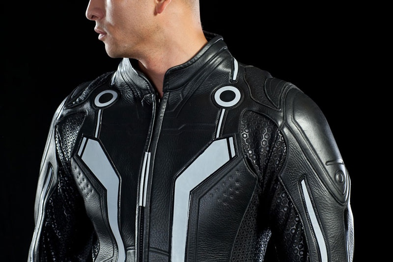 Tron leather jacket