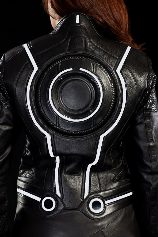 Official Tron Legacy Light Bike Motorcycle Suits