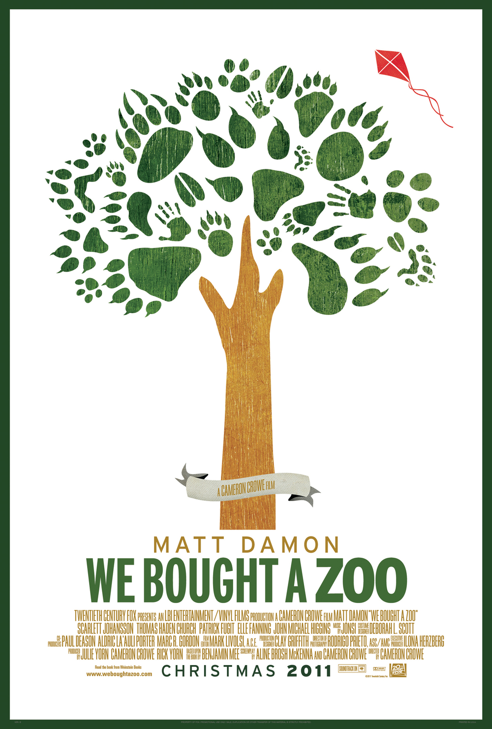 Zoo poster design - I Love The Great Cast The Score By Jonsi And The Fact That Crowe Is Making His Grand Return To The Big Screen Check Out The Poster Below And Share Your