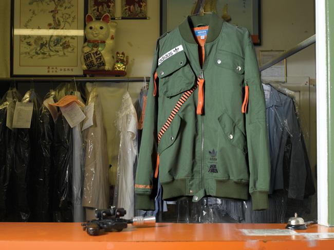 adidas star wars millennium falcon flight jacket