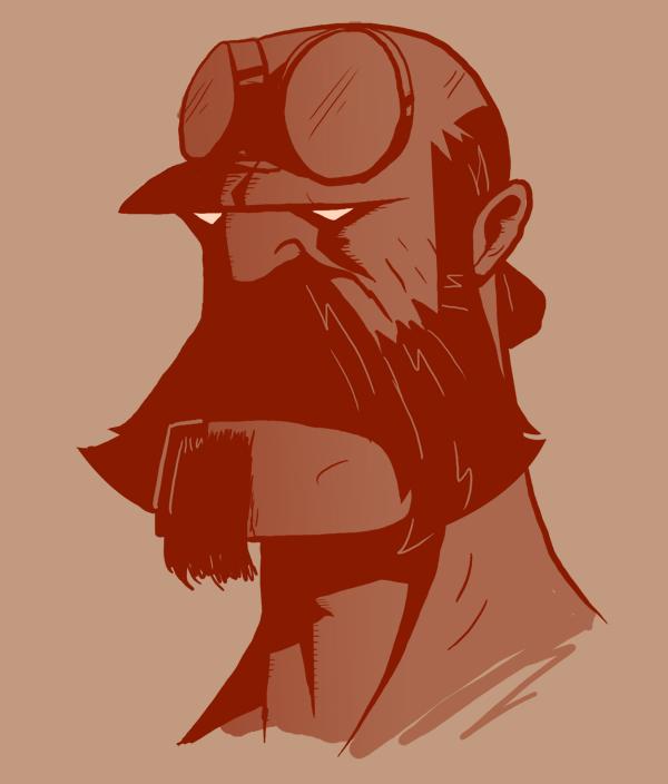 Bearded Batman Villains And Villains With Beards