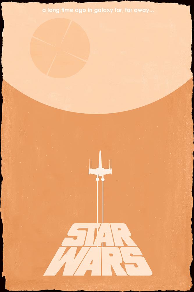 Star Wars Trilogy Minimalist Posters Geektyrant