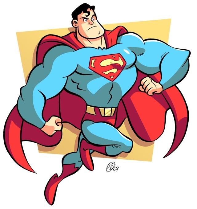 Awesome Cartoon Style Superhero Art! — GeekTyrant