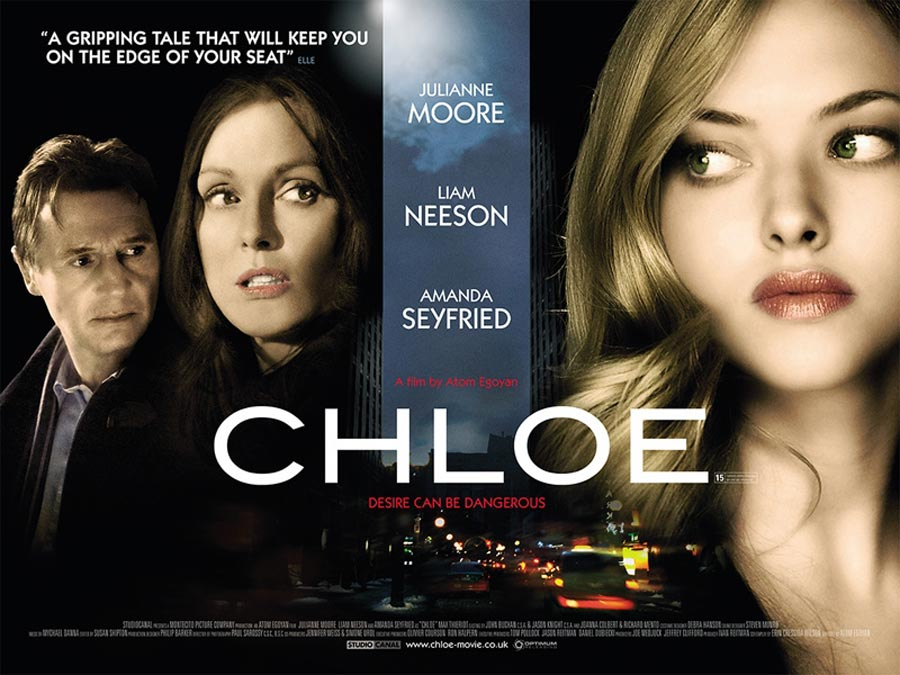 Atom Egoyan s Chloe makes Basic Instinct and Fatal Attraction look like  Pixar films. Stars Amanda Seyfried and Julianne Moore eb603a891