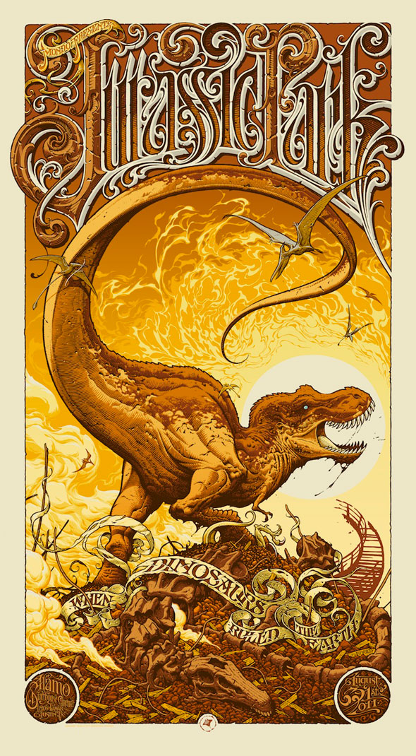 Mondo Tees JURASSIC PARK Poster Art — GeekTyrant