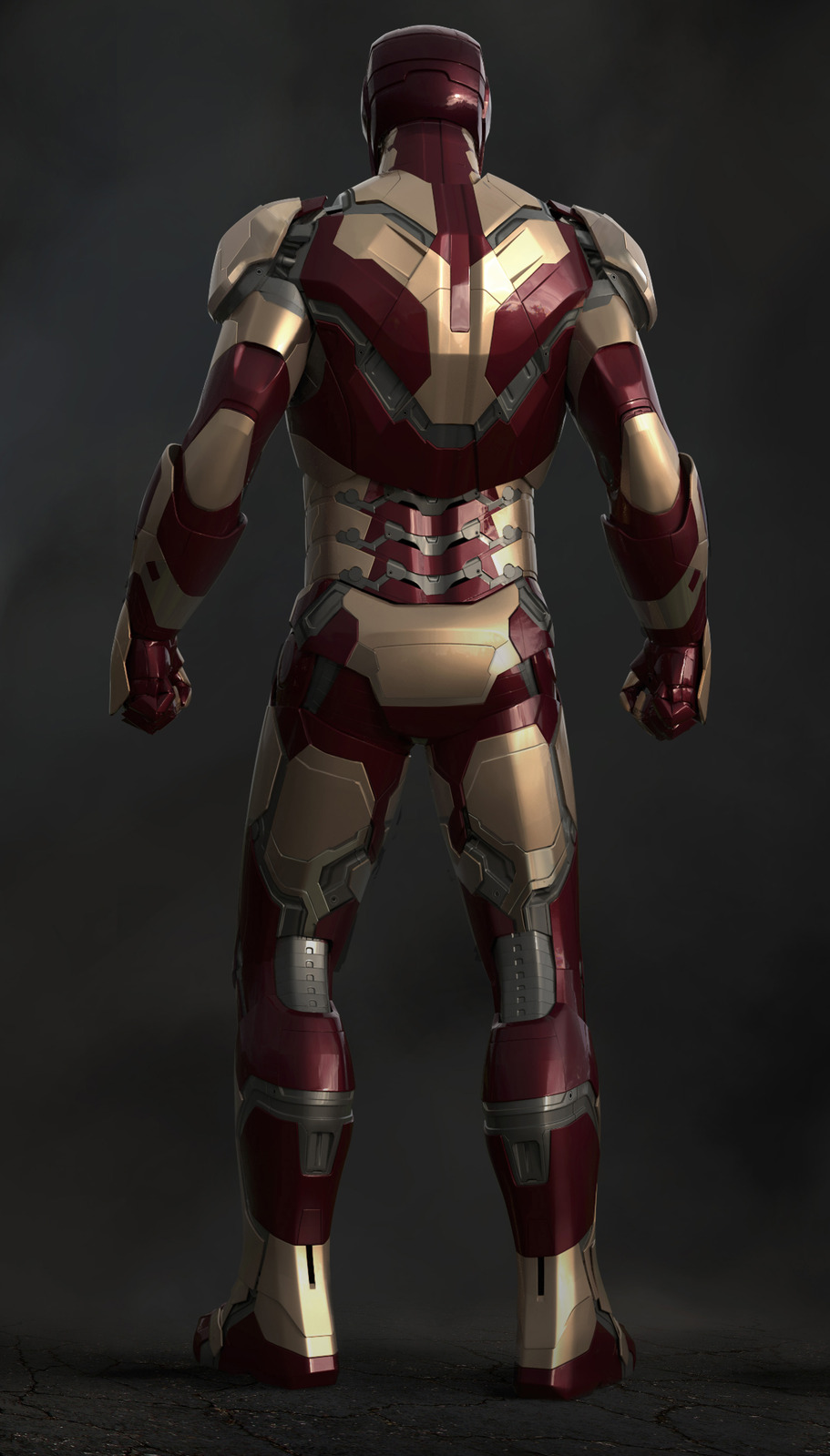 IRON MAN 3 - Concept Art for War Machine, Malibu Attack ...