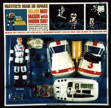 Week of Coolest Toys Ever: 1966 MAJOR MATT MASON Action ...