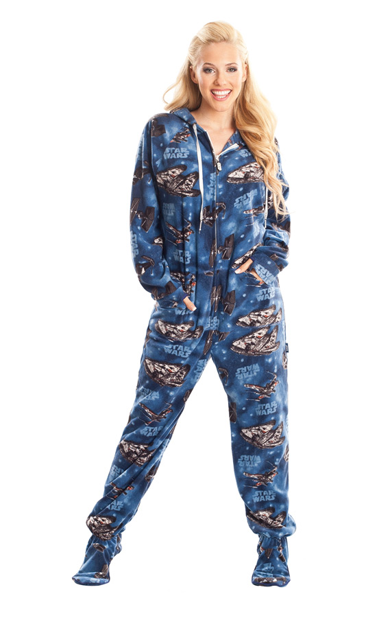 Must-Own STAR WARS Adult Footed Pajamas — GeekTyrant