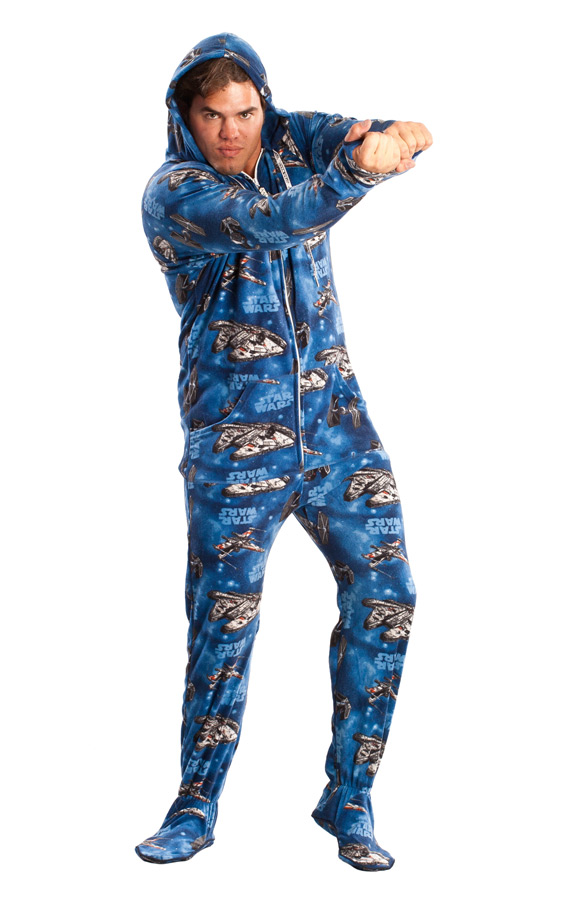 50d0d90e9 Must-Own STAR WARS Adult Footed Pajamas — GeekTyrant