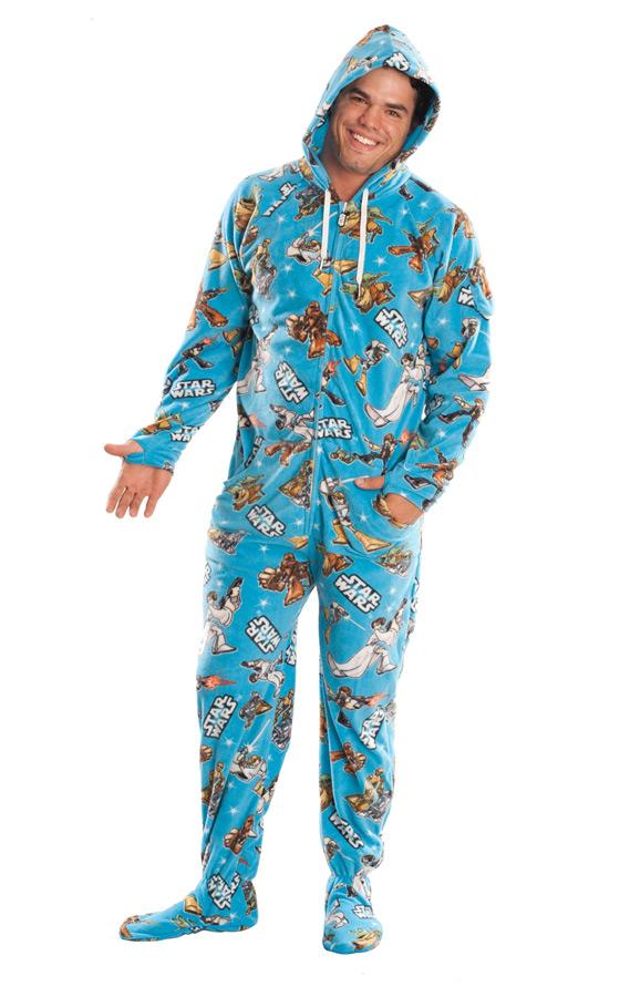 Must Own Star Wars Adult Footed Pajamas Geektyrant