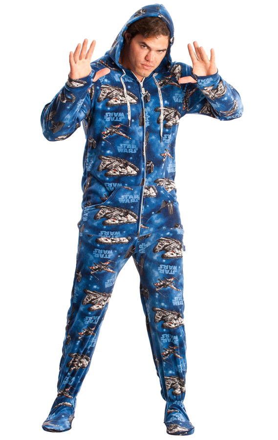 Must-Own STAR WARS Adult Footed Pajamas — GeekTyrant 52e7bfd2b