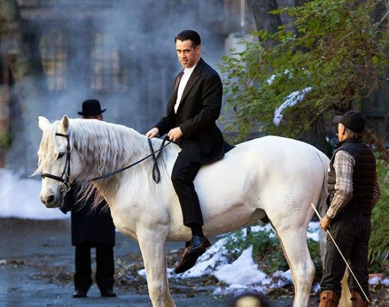 winter 39 s tale first photos of colin farrell and russell. Black Bedroom Furniture Sets. Home Design Ideas