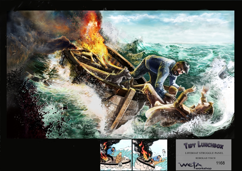 Concept Art From The Adventures Of Tintin Geektyrant