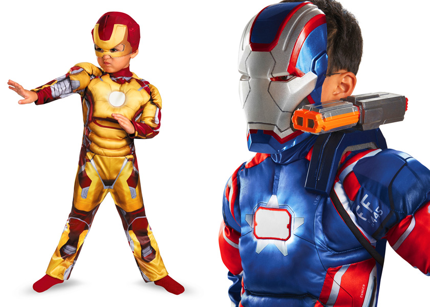 Avengers Iron Man 3 Costume Size XS 3t-4t. Pre-Owned. $ Time left 4d 2h left. 0 bids. or Best Offer +$ shipping. Iron Man 3 Boys Patriotic Iron Man Classic Costume by Disguise Kids Boys Boy. Brand New · Disguise. $ Buy It Now +$ shipping. SPONSORED.
