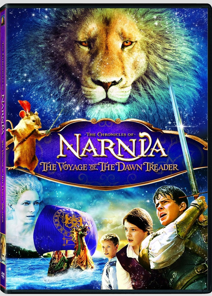 Dvd Blu Ray Box Art Specs And Release Date For Narnia The Voyage