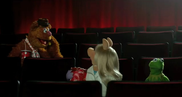 the muppets and amc theaters release fun cell phone policy