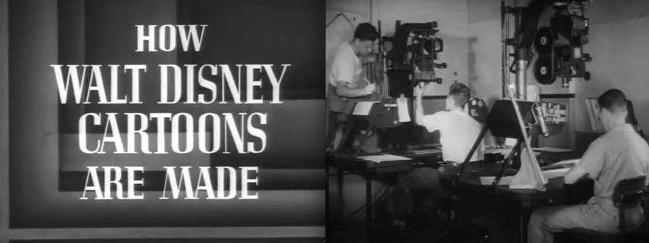 how old school walt disney cartoons were made short documentary