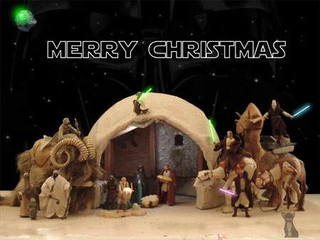 25 Posts of Geek Christmas Day 4 - STAR WARS Nativity ... | 450 x 338 jpeg 70kB