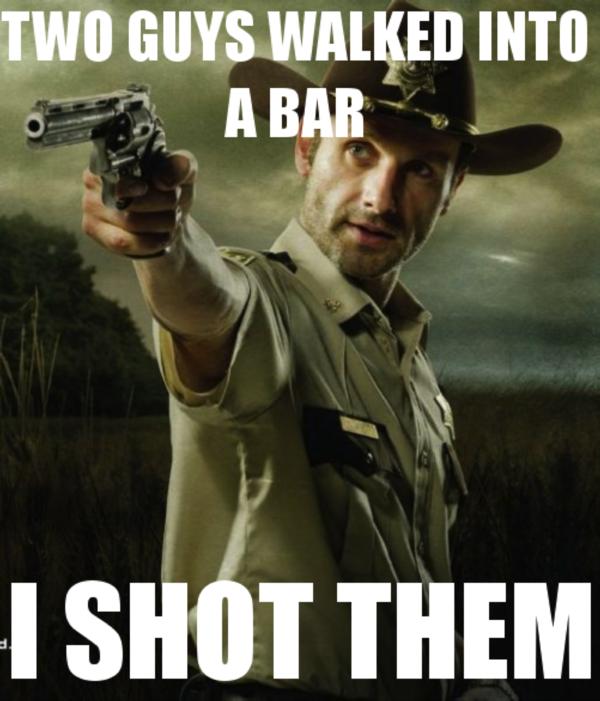 25 Funny WALKING DEAD Season 2 Memes