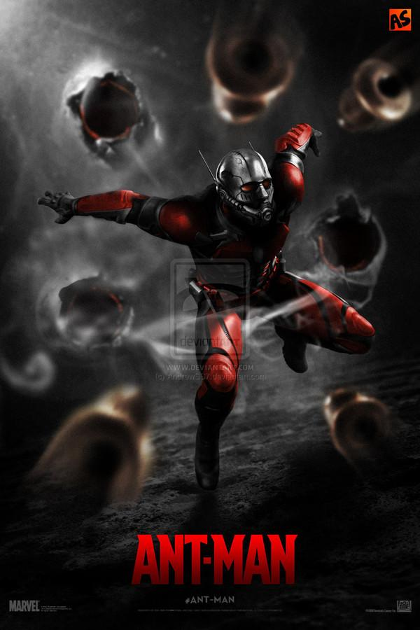 antman fan made movie poster � geektyrant