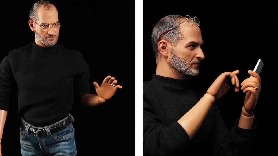 Realistic Steve Jobs Collectible Action Figure — GeekTyrant