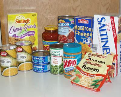 Food Bank  Thanksgiving Supplies