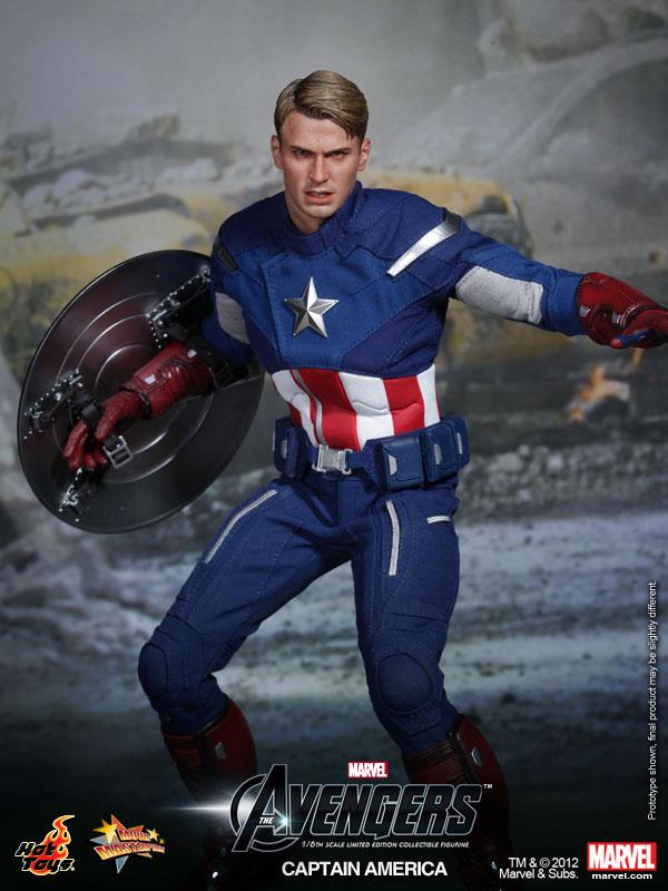 the avengers hot toys captain america collectible action