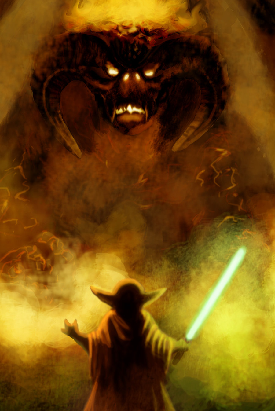 STAR WARS and LORD OF THE RINGS mashup is amazing! — GeekTyrant