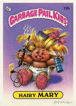 Image result for garbage pail kids