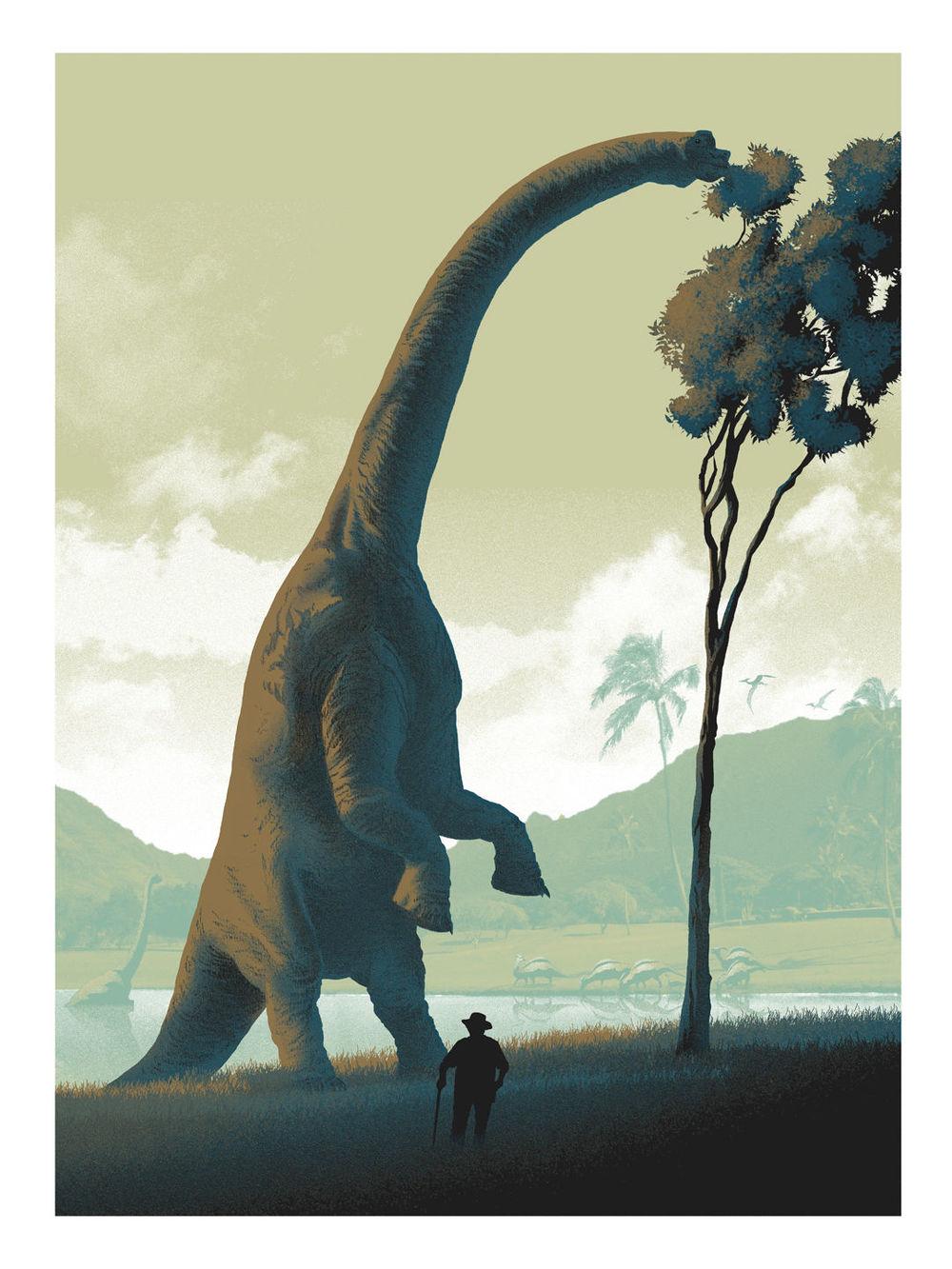 New JURASSIC PARK Inspired Print  Its A Dinosaur  GeekTyrant