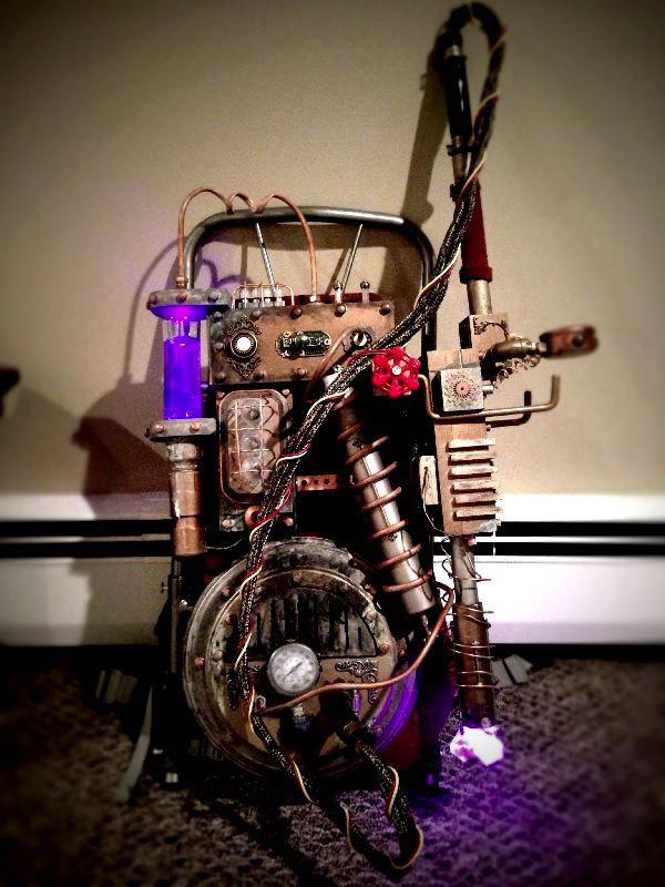Steampunk Ghostbusters Proton Pack Geektyrant